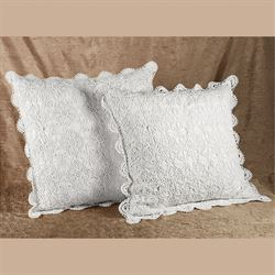 Crochet Tailored Sham  European