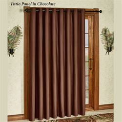 Paradise Solid Color Grommet Patio Panel