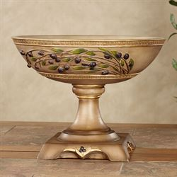 Vernazza Olives Centerpiece Bowl Tawny