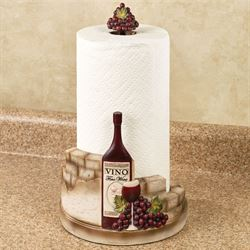 Vino Italiano Paper Towel Holder Multi Earth