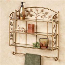 Eden Wall Shelf Champagne Bronze