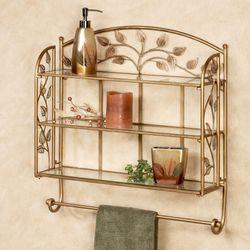 Eden Wall Shelf Champagne Bronze