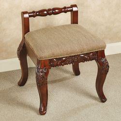 Victoriana Vanity Chair Natural Cherry