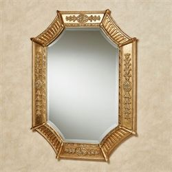 Sofia Wall Mirror Antique Gold