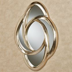 Endless Motion Wall Mirror Platinum