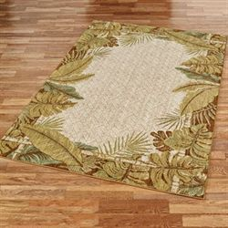 Paradise Cove Rectangle Rug Straw
