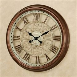 Beldon Wall Clock Bronze