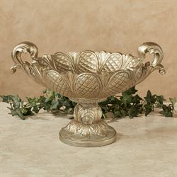Calissa Decorative Centerpiece Bowl Satin Gold