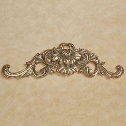 Calissa Decorative Wall Topper Satin Gold
