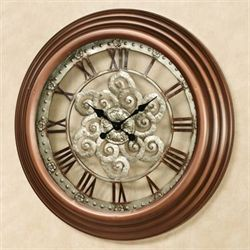 Coraline Wall Clock Bronze