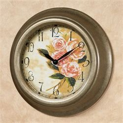 Alexa Rose Wall Clock Light Gold