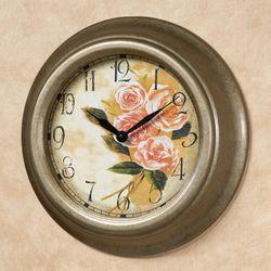 Alexa Rose Wall Clock Light Gold