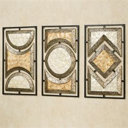 Pasquale Wall Art Cream Set of Three