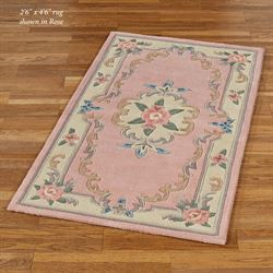 Serena Aubusson Ii Floral Wool Large Accent Rugs