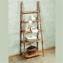 Bocca Ladder Display Shelf Tortoise