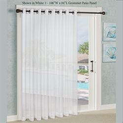 Bal Harbour Grommet Patio Panel  106 x 84