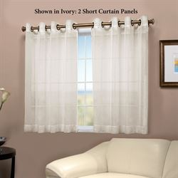 Bal Harbour Short Grommet Curtain Panel