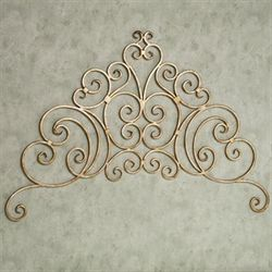 Marsala Scrolling Wall Grille Antique Gold