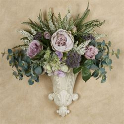 Sophia Floral Medley Wall Pocket Multi Pastel