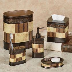Zambia Lotion Soap Dispenser Brown