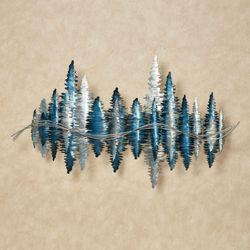 Echoes Wall Sculpture Blue