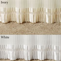Formal Pleated Tailored Bedskirt