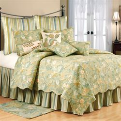 Henley Spa Quilt Mint