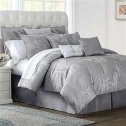 Lauren Comforter Set Gray