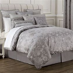 Samantha II Comforter Set Gray