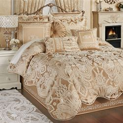 Monarch Comforter Set Gold/Bronze