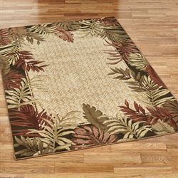 Belantara Rectangle Rug Straw