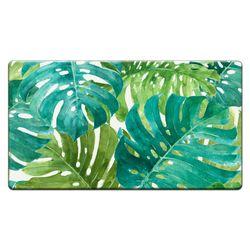 Tropical Green Cushioned Floor Mat 30 x 20
