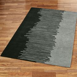 Blurred Lines Rectangle Rug