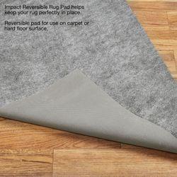 Impact Reversible Runner Rug Pad Gray 22 x 710
