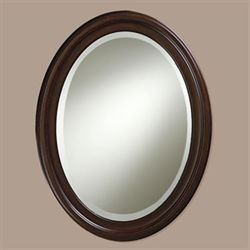 Loree Brown Wall Mirror