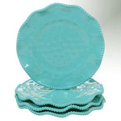 Perlette Dessert Plates Set of Four