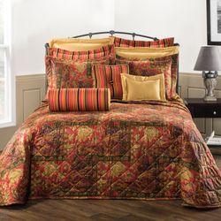 Kalinjar Bedspread Dark Red