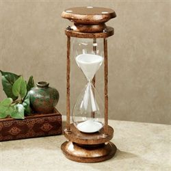 Passing Time Hourglass Italian Gold