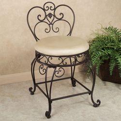 Aldabella Tuscan Slate Vanity Chair