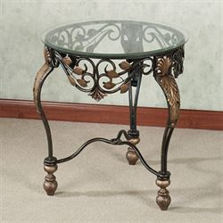 Marlow Accent Table Dark Bronze