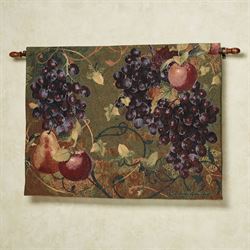 Tuscan Countryside Fruit Wall Tapestry Multi Warm