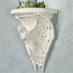 Wings of Glory Wall Shelf Ivory