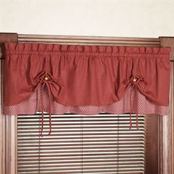 Crossroads Tailored Valance  58 x 16