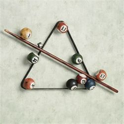 Eight Ball Billiards Wall Accent Multi Jewel
