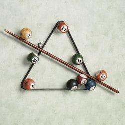 Eight Ball Billiards Wall Accent Multi Jewel