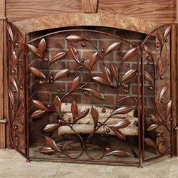 Catalonia Fireplace Screen Brown