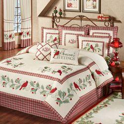 Wintersong Comforter Set Ecru
