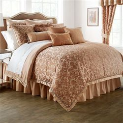 Margot Comforter Set Light Gold