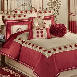 Prestige Comforter Set Dark Red