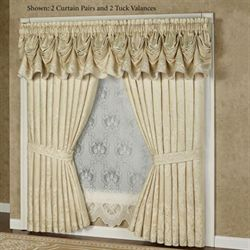 Francesca Tuck Valance Light Gold 90 x 20